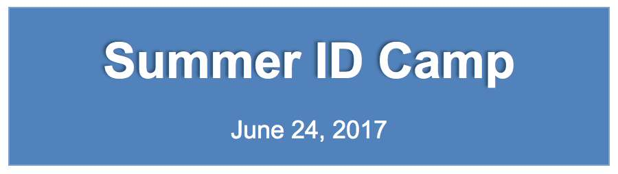 Summer ID Camp Banner
